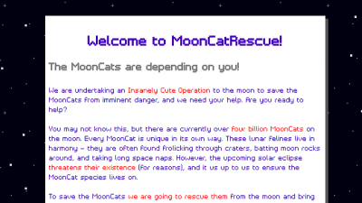 Mooncatrescue Dapps