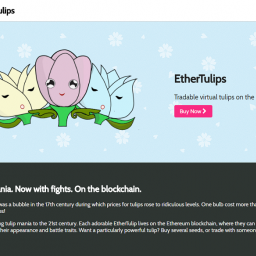 Ether_Tulips Dapps